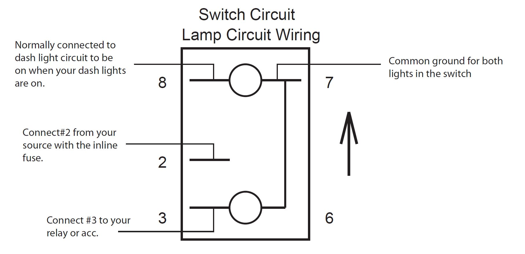 Pin Lighted Rocker Switch Wiring Diagram Diagram - Lighted toggle switch wiring diagram