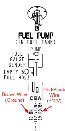 Straight Wiring Fuel Pump Need