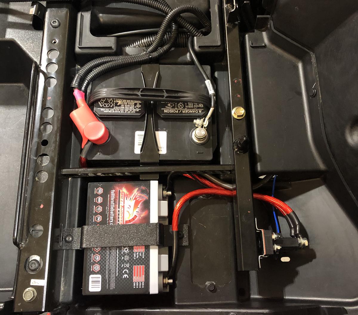 battery jump post kit utv stereo