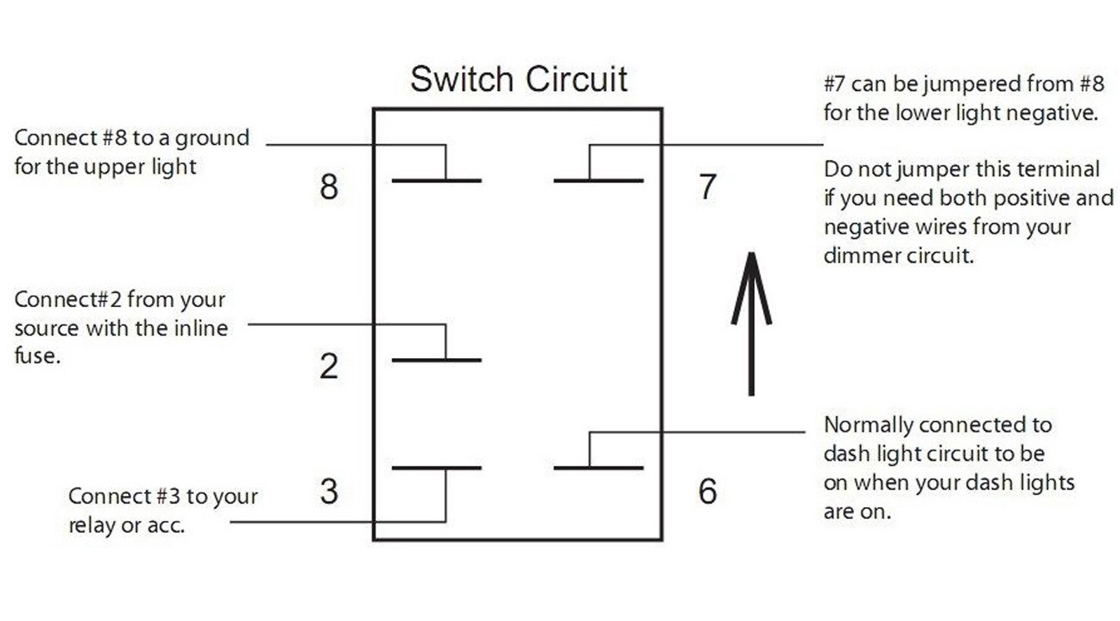 12 Volt Rocker Switch With Light Wiring Diagram - Database ...