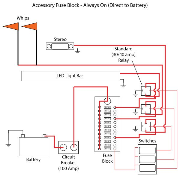 Accessory Wiring Diagram