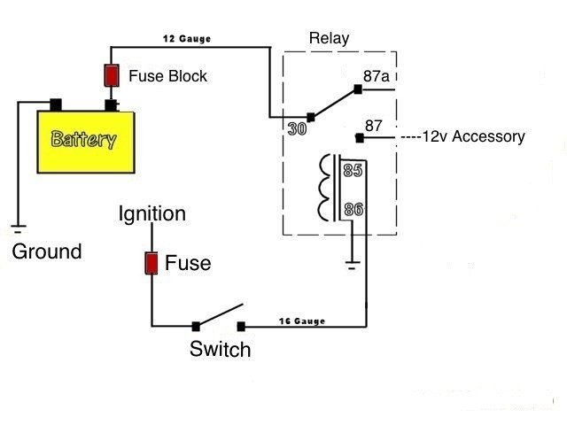 Wiring Accessories With a Relay | Polaris RZR Forum - RZR ... on logic flow diagram, mechanically held lighting contactor diagram, contactor parts, contactor exploded view, generac transfer switch diagram, 6 prong toggle switch diagram, electrical contactor diagram, contactor switch, kitchen stoves and ovens diagram, push button start stop diagram, contactor coil, 3 position selector switch diagram, magnetic contactor diagram, single phase reversing contactor diagram, circuit diagram, contactor relay, abortion diagram, contactor operation diagram, carrier furnace parts diagram, reverse polarity relay diagram,