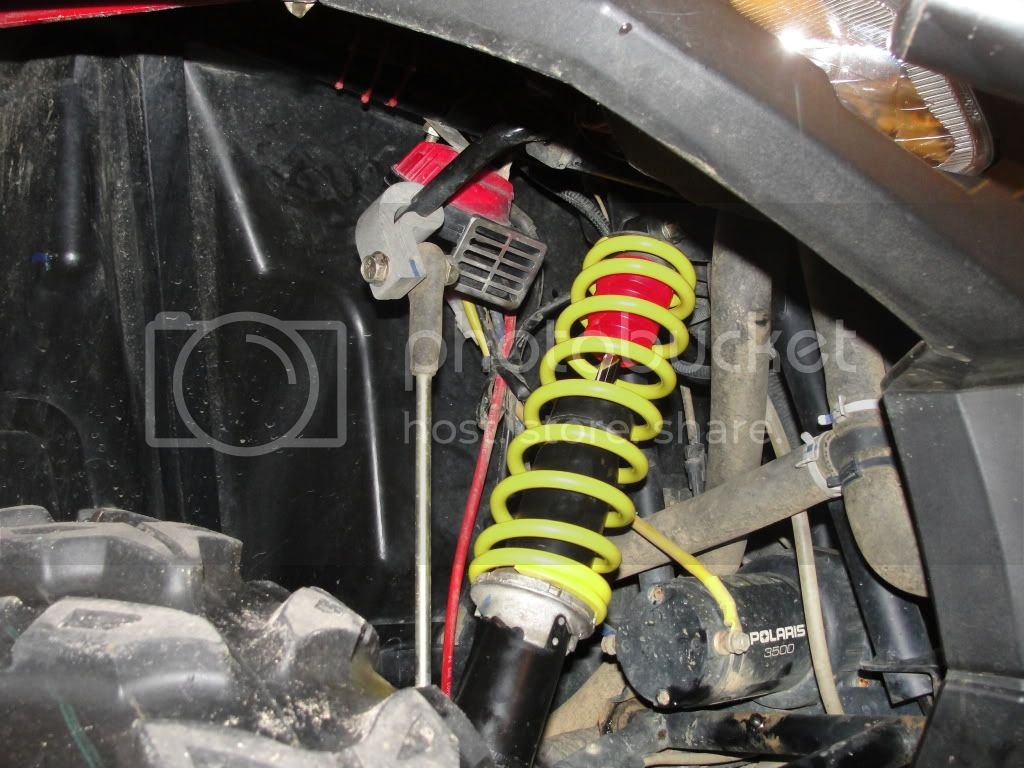 Superatv springs and Daystar EVS Bump Stops Installed