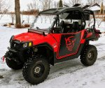 2012 RZR 570 - Rigged for Ice Fishing