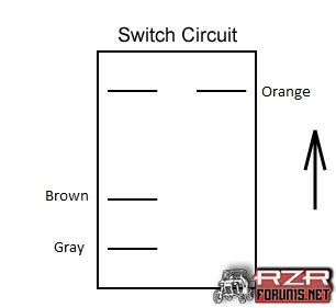 4wd rocker switch wiring question polaris rzr forum rzr forums net rh rzrforums net