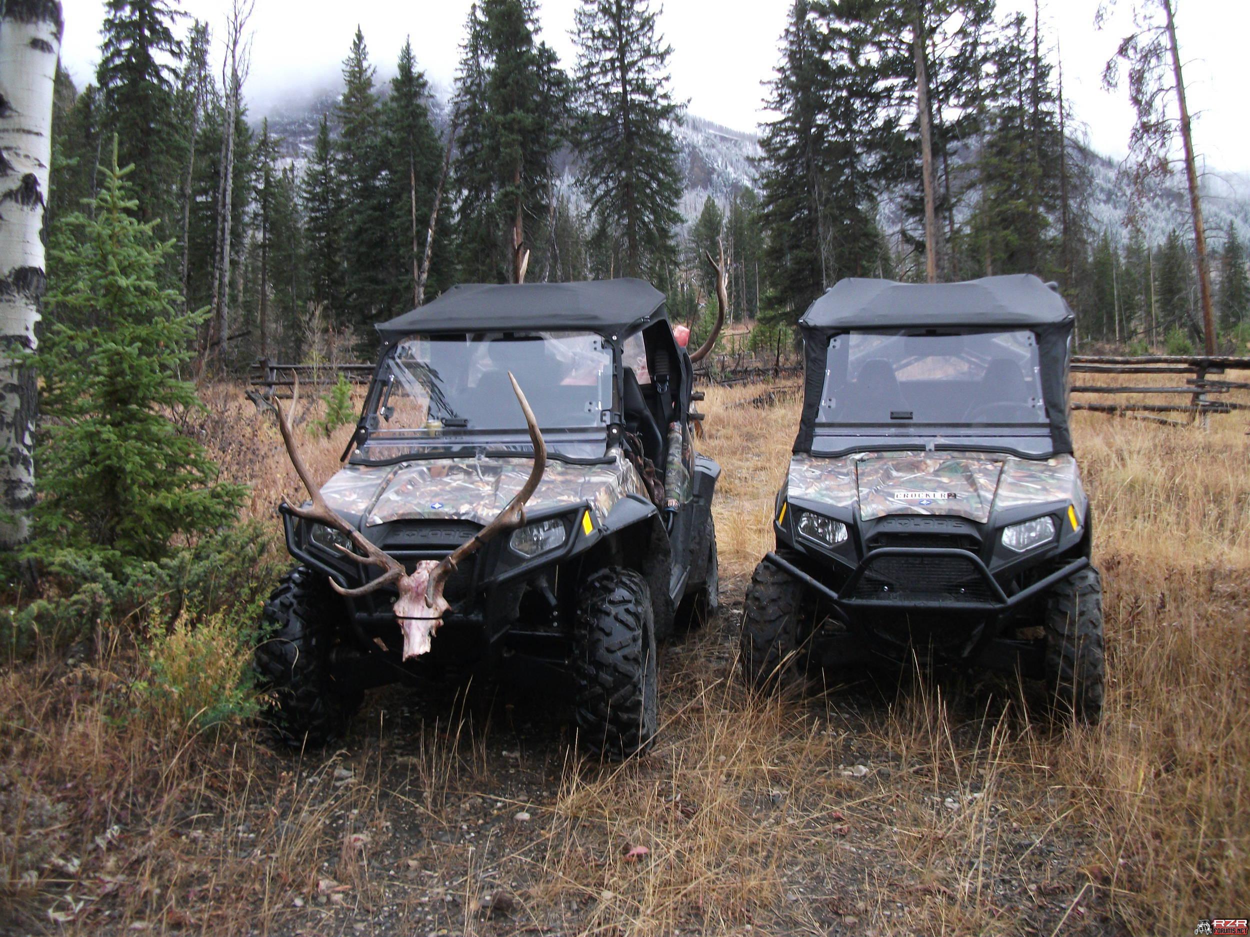 Hunting with your RZR Polaris RZR Forum RZR Forums