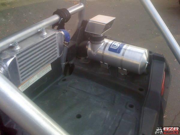 Custom Weber Intercooler Bed Mount w/ Dual 5 2