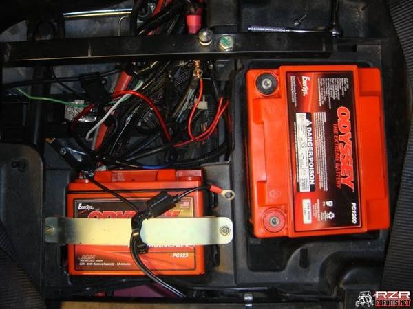 Running 2 Batteries Page 4 Polaris Rzr Forum Rzr