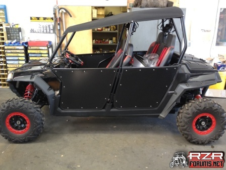 ... RG RZR 4 - Black with Red Accents Twisted Stitch Seats - front and rears - Black and Red Crow Belts - 5 points (Red) Rugged in car radio - 4 headsets & 2011 rg 800 rzr 4 - Polaris RZR Forum - RZR Forums.net