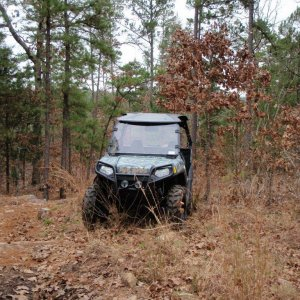PINE MOUNTAIN ATV TRAILS (CLOUDY, OKLAHOMA)