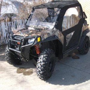 Camo RZR Out Of Hibernation
