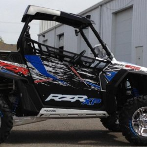 Samples of Rzr Wraps and Door graphics by Toyskinz