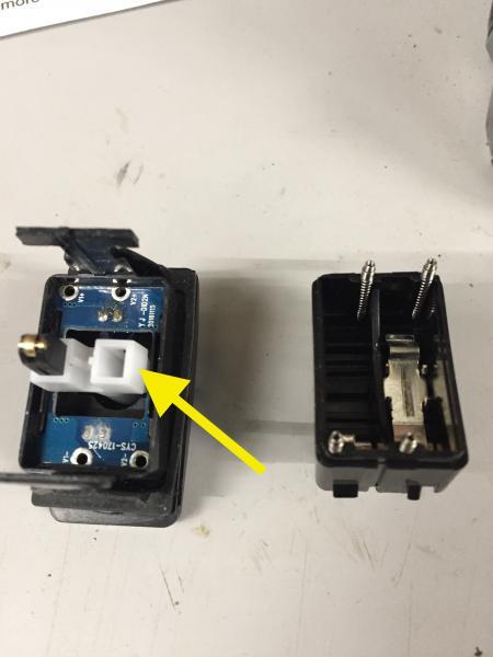 this changes the polarity of the led's to match the polarity of the circuit  of the rzr