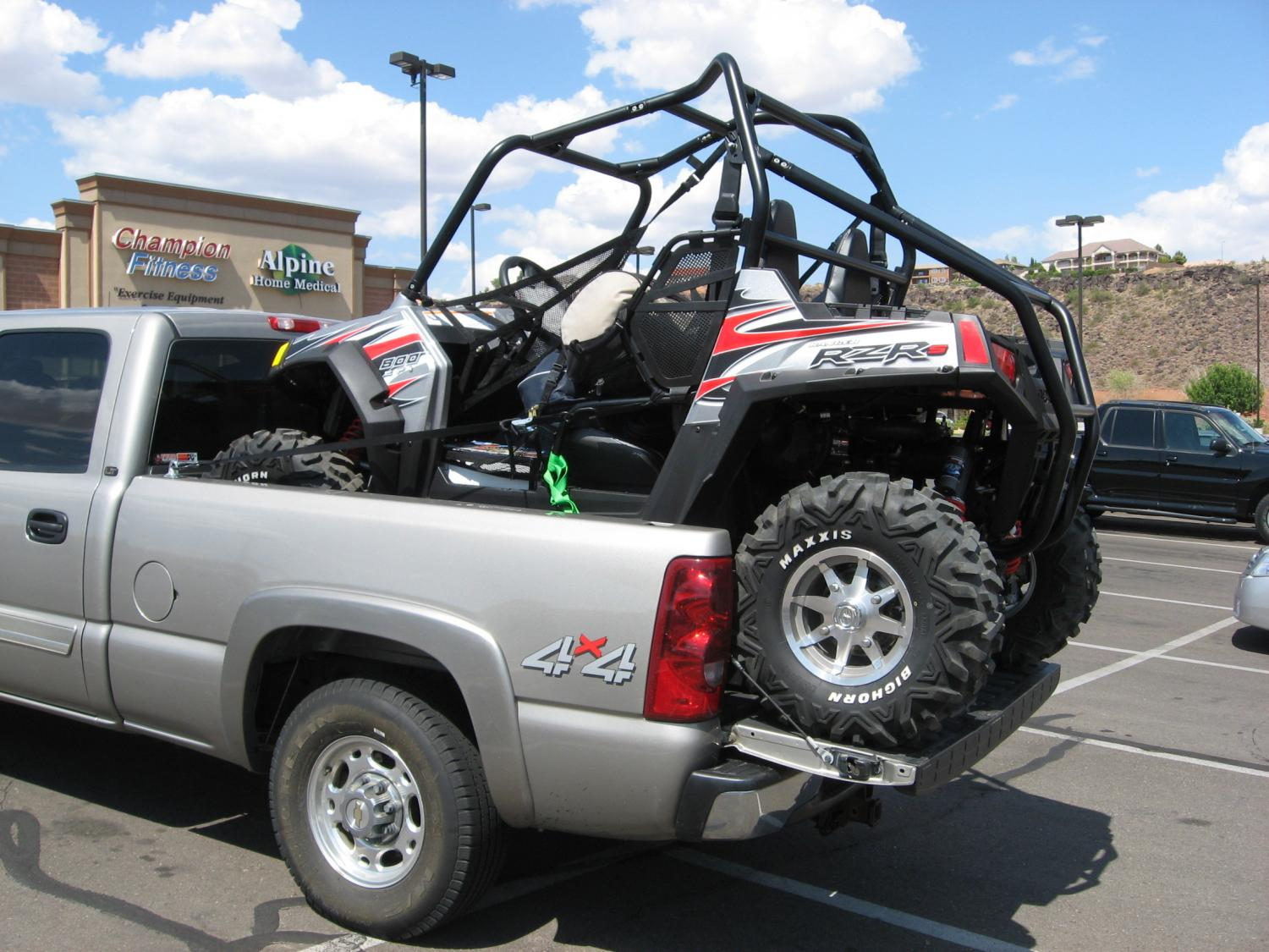 Ford F150 Rack >> Rzr 800 in '10 SCrew Short Bed - Ford F150 Forum - Community of Ford Truck Fans