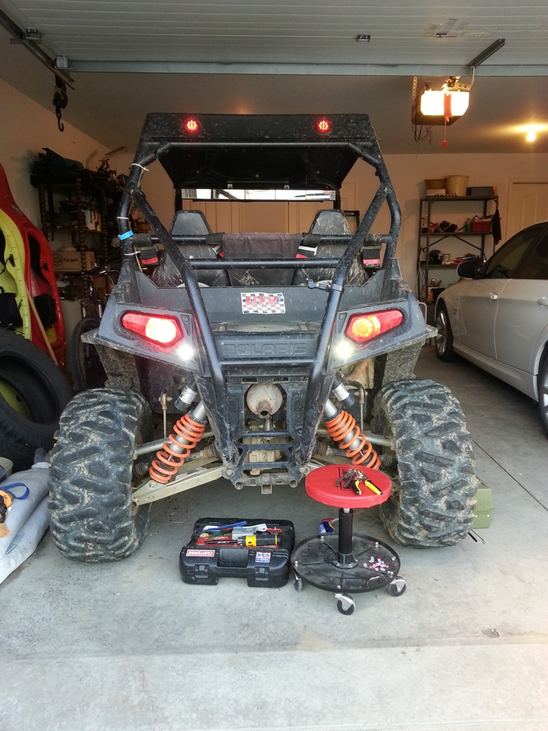 Rzr Reverse Light Wiring Switch Diagram Electrical Junction Box Galleryhipcom The Hippest Lets See Your Backup Setups Polaris Forum Forums Net Rh Rzrforums Aftermarket